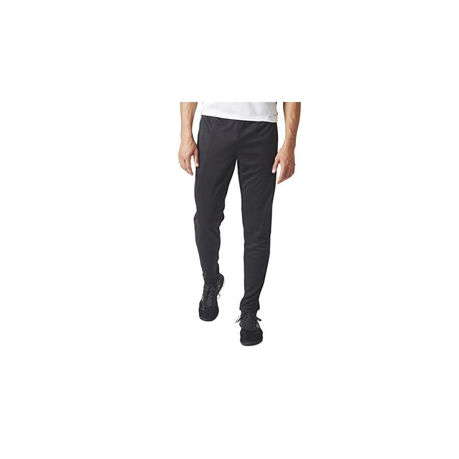 adidas Mens Tiro17 TRG Pant, Black/Blue, XX Large