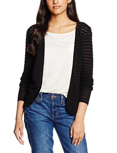 Only 15116277 Chaqueta, Mujer Negro (Black)