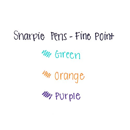 Sharpie 1763978 Retractable Fine-Point Pen, Assorted Colors, 3-Pack by Sharpie (Image #3)
