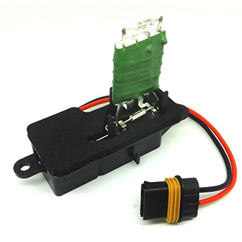 Front Heater Blower Motor Resistor 12135105 For 96-05 Gmc Safari Chevy Astro Van 1996 97 98 99 2000 01 02 03 04 05 Gmc Safari 12135105, 89018436, 15-80550 (03 Gmc Blower Motor Resistor compare prices)