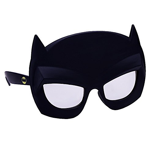 Costume Sunglasses Lil' Characters Batman Mask Sun-Staches Party Favors UV400