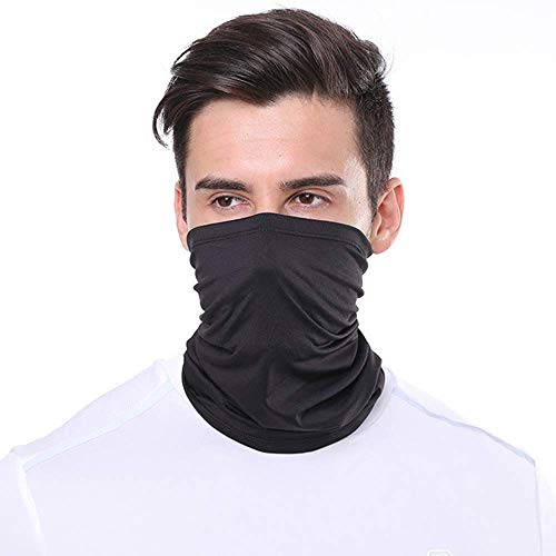 Vzatt Face Neck Gaiter Sun UV Proof Face Scarf mask Mouth Cover Mask Seamless Bandana Scarf for Outdoor Fishing Motorcycling Running Hiking Hunting