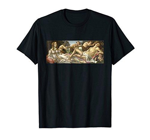 Venus and Mars Sandro Botticelli painting T-Shirt