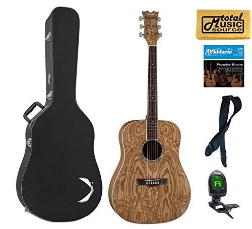 Dean Guitars AX DQA GN HSBKPACK Acoustic Guitar Case Bundle (Dean Ax Dqa Acoustic Guitar)