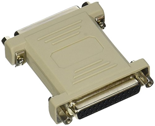 C2G/Cables to Go 02468 DB25 Female/Female Null Modem Adapter (Beige)