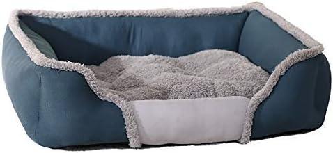 Cojín de Yute para sofá, Mascota, Perro, Azul Claro, Cama para ...