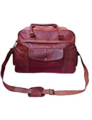 Gbag (T) PROMOTIONAL SALE Leather Duffel Travel Sports Gym Cabin bag