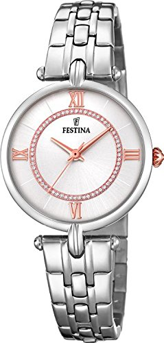 Festina Mademoiselle F20315/1 Wristwatch for women With Swarovski crystals