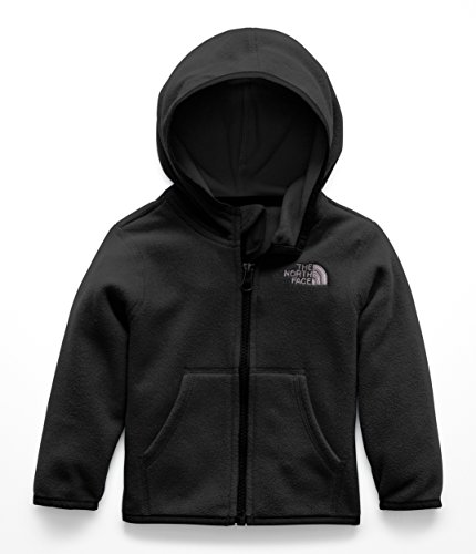 Face Hooded Fleece - The North Face Infant Glacier Full Zip Hoodie - TNF Black - 18M