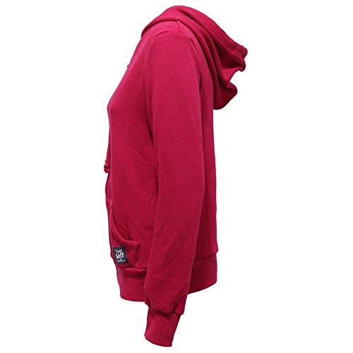 woman interno sweatshirt 8672V FARM felpa SUOER DUCK ecopelo Fuxia SOFT donna qzTRS
