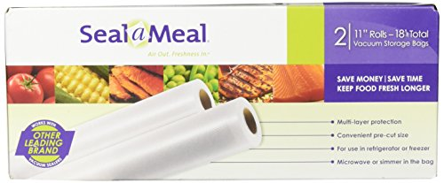 Seal-A-Meal 11 Roll Vacuum Sealer Bag (Bags Sunbeam Vacuum)