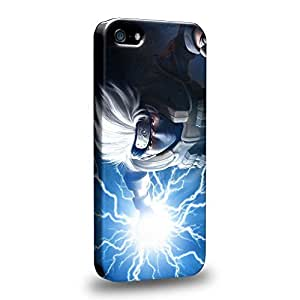 Imaginative Premium Designs Hatake Kakashi Shippuden Protective Snap-on Hard Back Case Cover for Apple iPhone 5 5s by ruishername