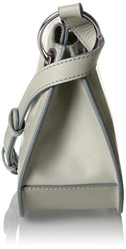 Bree Cordoba 6 Cr. Sh. Xs W17, Sacchetto Donna, Argento (Silver Grey), 19x9x25 cm (B x H x T)