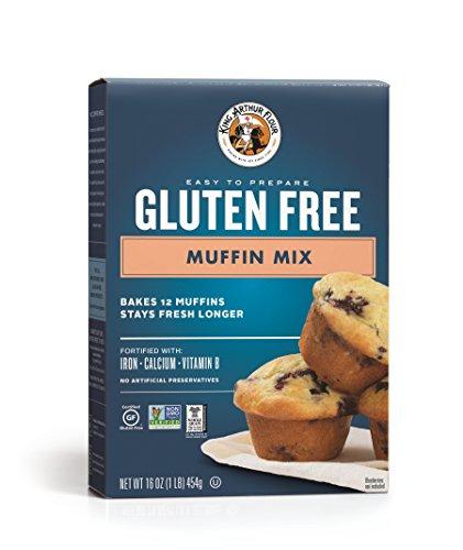 King Arthur Gluten Free Muffin Mix, 16 Ounce