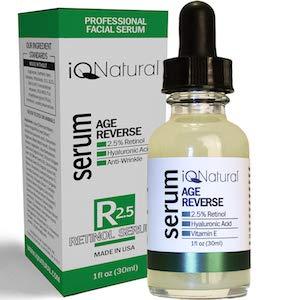 Collagen Booster Retinol + Hyaluronic Acid Serum, Organic Aloe Vera, Vitamin E + Gotu Kola - Fade Dark Spots, Reduce Fine Lines, Wrinkles - Nightly Anti Aging Moisturizer, 1 fl oz