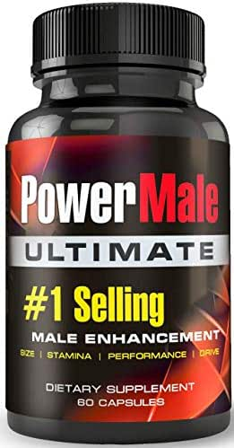 PowerMale Ultimate - Best-Selling Male Enhancement Pills - Performance, Drive, Passion