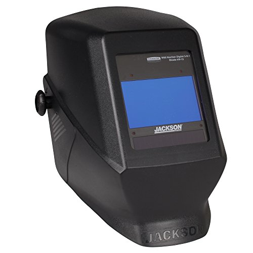 Jackson Safety HSL 100 Welding Helmet with NEXGEN 3-in-1 ADF (46148), Digital Auto Darkening, Black, 1 / -