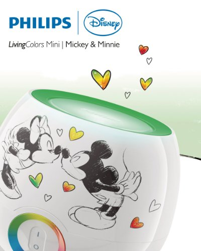 35 00 philips disney livingcolors mini mickey minnie wei for Kinderlampe decke