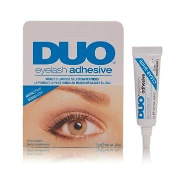 d84b4ff528e Amazon.com : DUO White Waterproof False Eyelash Adhesive Eye Lash Glue :  Beauty