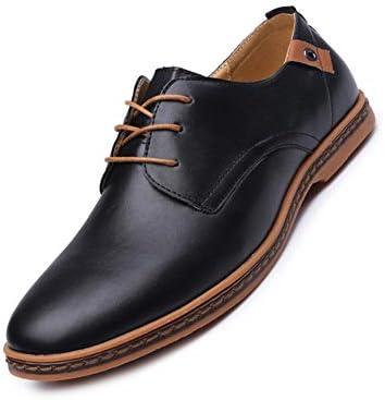 Parcclle Zapatos de boda para hombre, sintéticos, clásicos zapatos de esmoquin Lack38