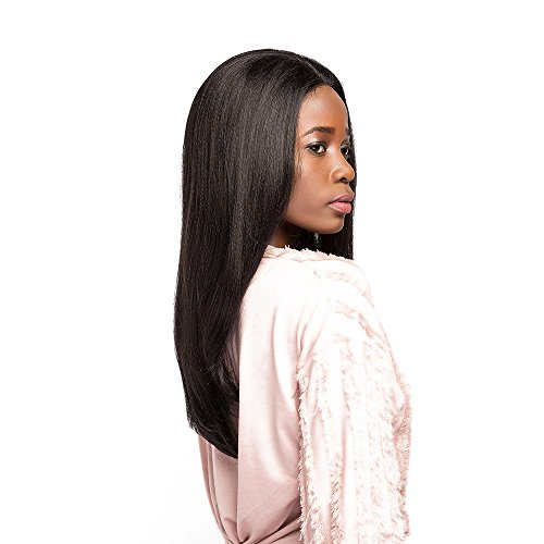 Tress Synthetic Wig - X-TRESS Straight Lace Front Wigs With Baby Hair20 Inch Dark Brown Wigs Synthetic Heat Resistant Glueless Medium Long Straight Fiber Hair Wigs For Women Natural Color (2 Dark Brown)