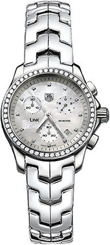 TAG Heuer Women's CJF1314.BA0580 Diamond Chronograph Watch