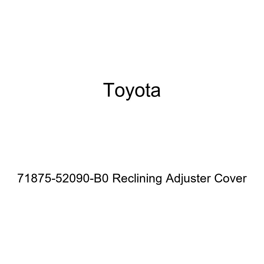 TOYOTA Genuine 71875-52090-B0 Reclining Adjuster Cover