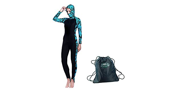 Amazon.com: MZ prenda traje de neopreno completo trajes para ...