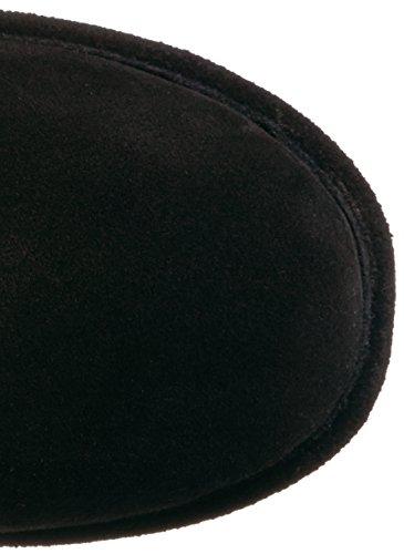 BEARPAW Women's Emma Short Snow Boot Black free shipping for cheap for sale finishline 8xJaH2c