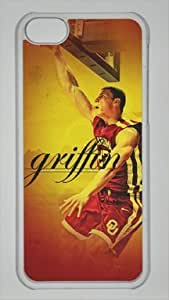 TYH - Blake Griffin Los Angeles Clippers #32 NBA Custom PC Transparent Case for iPhone 5C by LZHCASE ending phone case