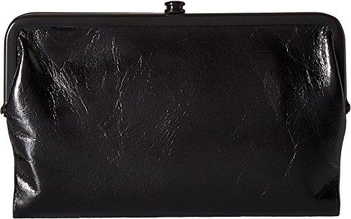 (Hobo Womens Glory Vintage Leather Clutch Wallet (Black))