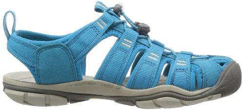 Keen Clearwater Cnx W-caribbean Sea/Pumice St - Sandalias Mujer Azul (Blau (CARIBBEAN SEA/PUMICE ST))