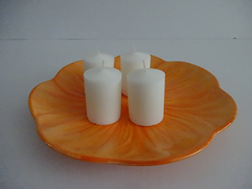 "Bulk White 15 Hour Unscented Votives, 2"" x 1.5"" (36 Pack)"