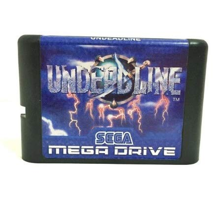 Taka Co 16 Bit Sega MD Game Top quality 16 bit Sega MD game Cartridge for Megadrive Genesis system --- Undeadline