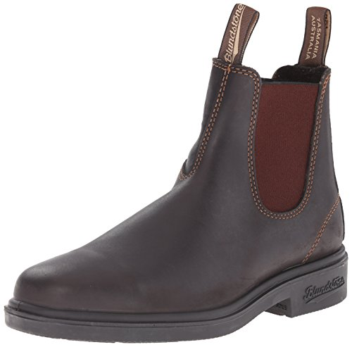 Blundstone Unisex Dress Series, Stout Brown, 5.5 M US Men's