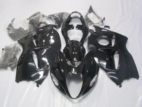 2000 Abs Fairing - ZXMOTO Motorcycle ABS Bodywork Fairing Kit for HAYABUSA Suzuki GSXR 1300 HAYABUSA 1999 2000 2001 2002 2003 2004 2005 2006 2007 Gloss Black - (Pieces/kit: 19)