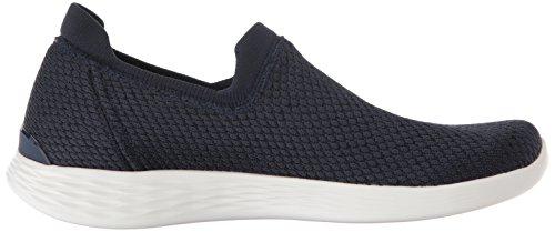 Define Navy Blau Allegra on Slip Skechers Damen You Nvy Sneaker wqHExO6x