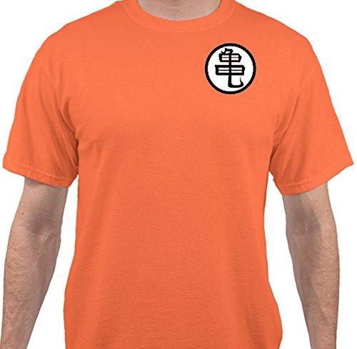 Sweet Tees™ Dragon Ball Z Halloween Costume T-Shirt - Orange - Large