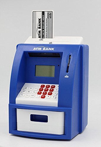 Teller ATM Bank Perfect Toy to Instill Saving Habit ()
