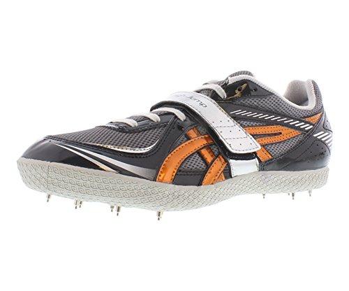ASICS Turbo Hi Jump Men\u0027s Track \u0026 Field Shoe,Storm/Copper/Black,9.5 M US