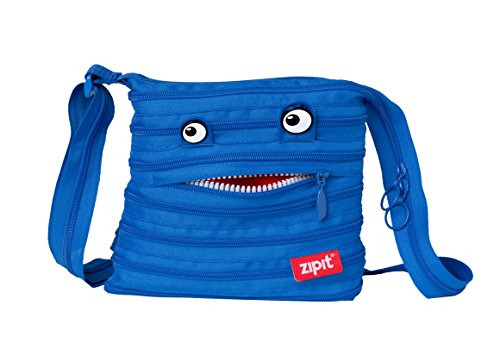 ZIPIT Monster Children Mini Shoulder Bag, Blue