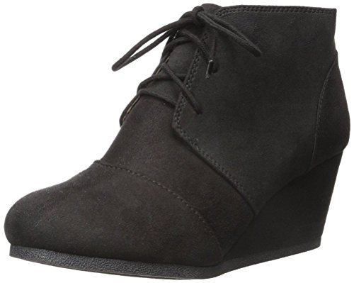 CITY CLASSIFIED Womens Rex Wedges Patricia Black 5.5