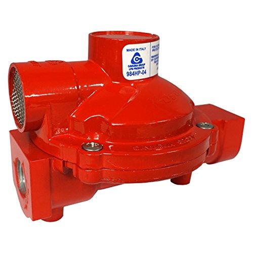 Cavagna Kosan 984HP-04 High Pressure 1st Stage Compact Propane Regulator 1/4 x 1/2