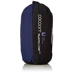 Cocoon Microfiber Mummyliner - Twilight Blue