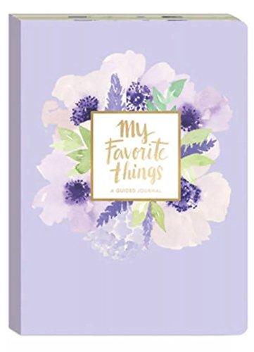 Punch Studio Favorite Things Guided Soft Cover Journal, Lavender Floral 75919 by Punch Studio (Image #6)