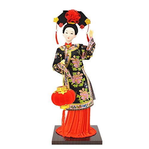 Qing Dynasty Costume (Chinese Qing Dynasty Doll Furnishing Articles/ Oriental Doll/ Best Gifts D)