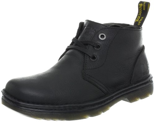 Dr. Martens Men's Sussex Work Boot,Black Bear Track,7 UK/8 M US