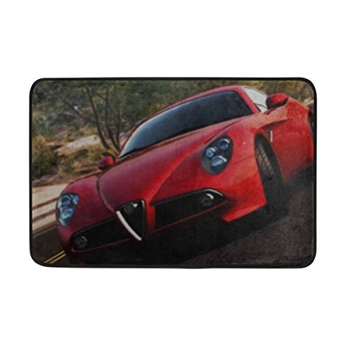 ANT88 Need for Speed Hot Pursuit Playstation 3 Wii Windows Xbox 360 Alfa Romeo Doormat Indoor Outdoor Entrance Floor Mat Bathroom 23.6 X 15.7 Inch (Speed Need Hot Pursuit For Wii)