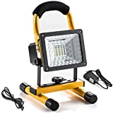 LETOUR LED Flood Light 30W Spotlights 3000Lumens Work Light Waterproof Outdoor Camping Security