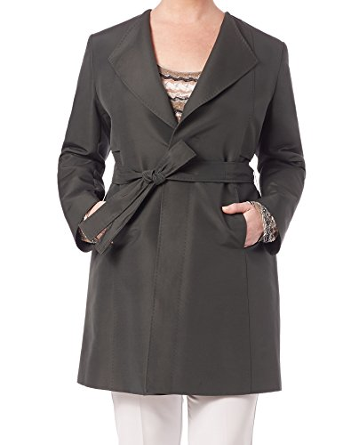 Marina Rinaldi Women's Tardi Belted Trenchcoat 14W / 23 -